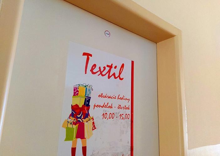textil obchod vysne hagy