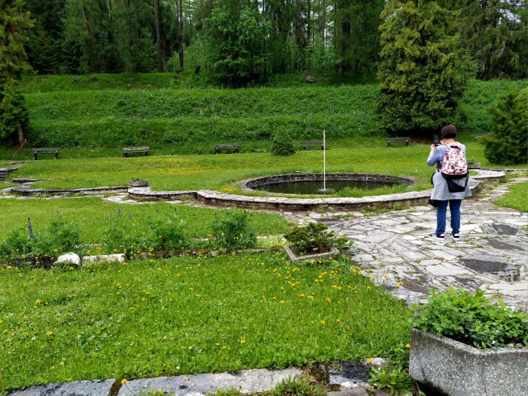 park ustav sanatorium voda
