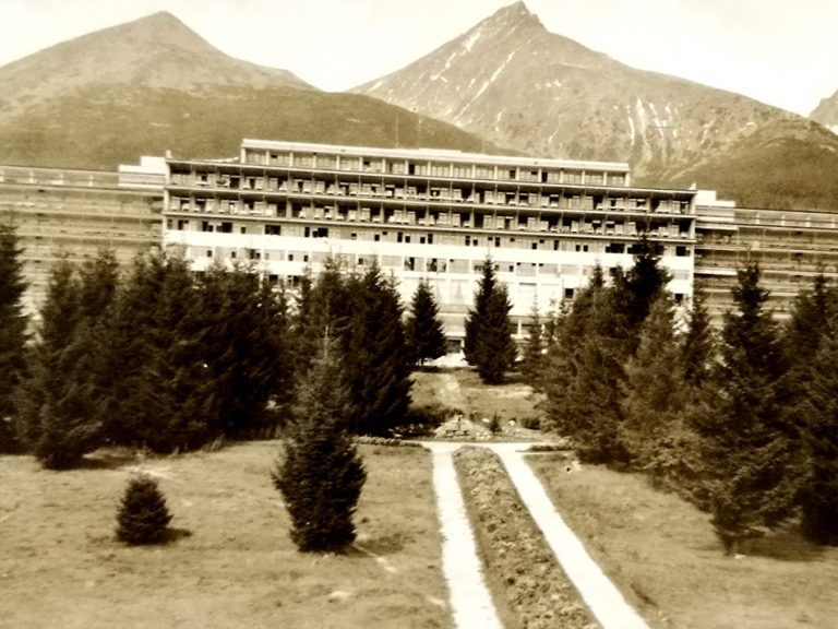 vysne hagy sanatorium park