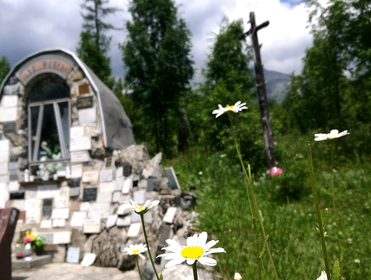 leto tatry kaplnka hagy